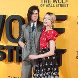 Peaches Geldof y Thomas Cohen en la premiere de 'El lobo de Wall Street' en Londres