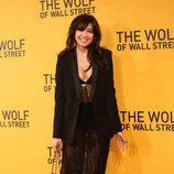 Daisy Lowe en la premiere de 'El lobo de Wall Street' en Londres