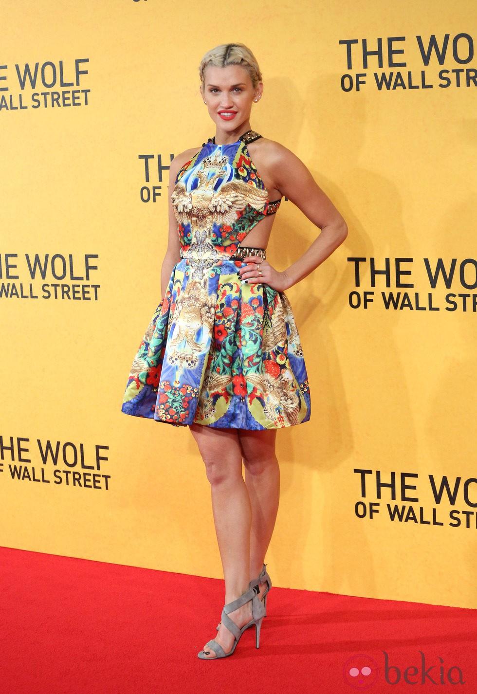 Ashley Roberts en la premiere de 'El lobo de Wall Street' en Londres