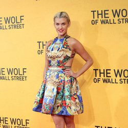 Ashley Roberts en la premiere de 'El lobo de Wall Street' en Londres