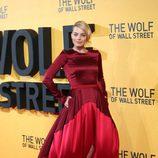Margot Robbie en la premiere de 'El lobo de Wall Street' en Londres