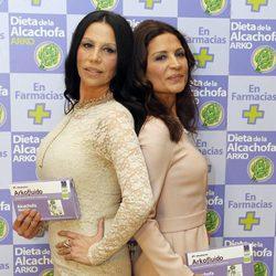 Toñi y Encarna Salazar presentan la Dieta de la Alcachofa