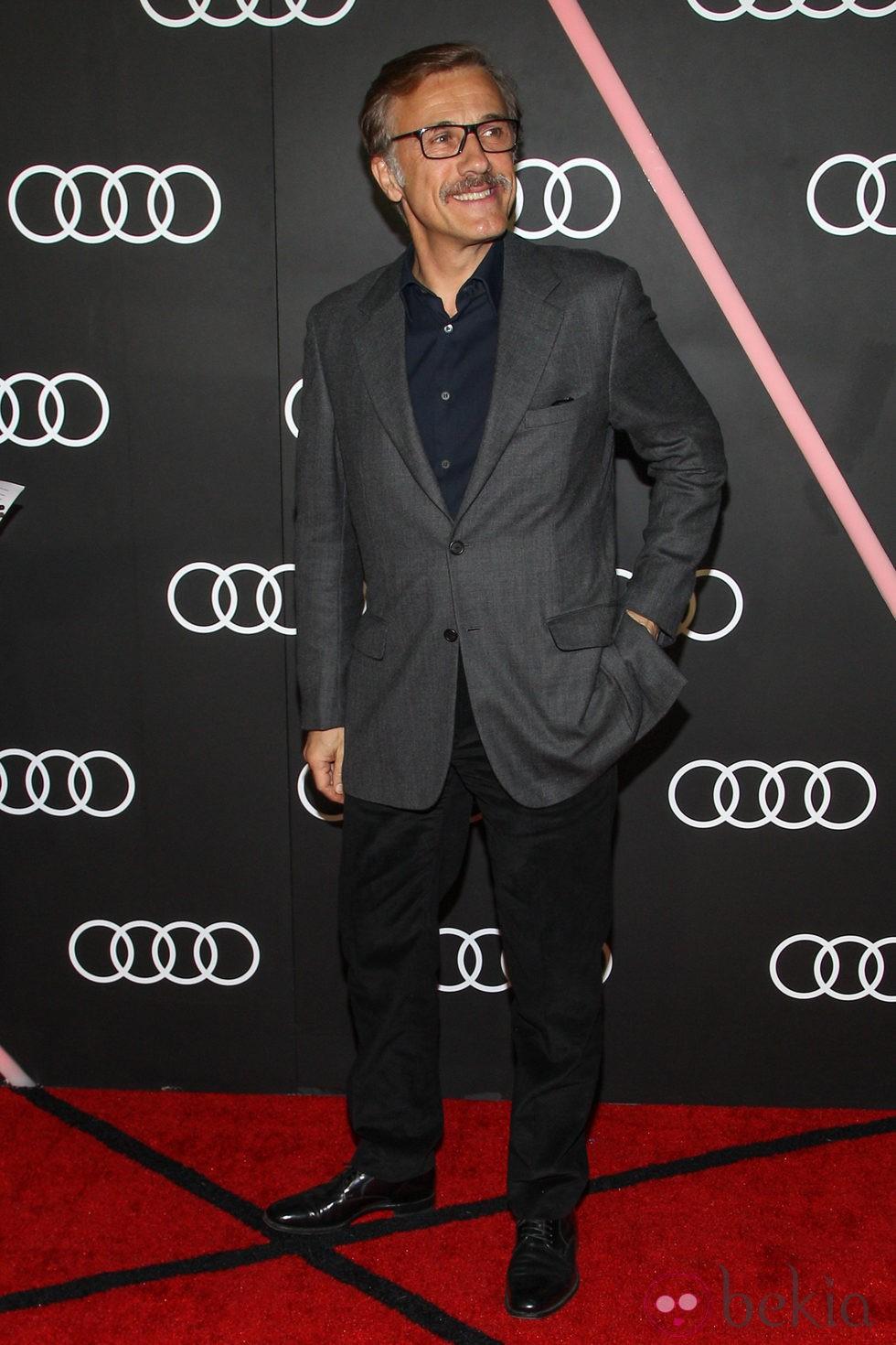 Christoph Waltz en el cocktail previo a los Globos de Oro 2014