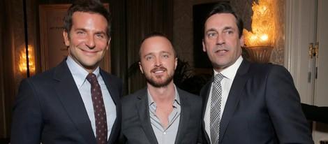 Bradley Cooper, Aaron Paul y Jon Hamm en la gala de los AFI Awards 2013