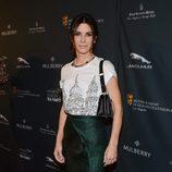 Sandra Bullock a su llegada a la fiesta previa a los premios BAFTA 2014