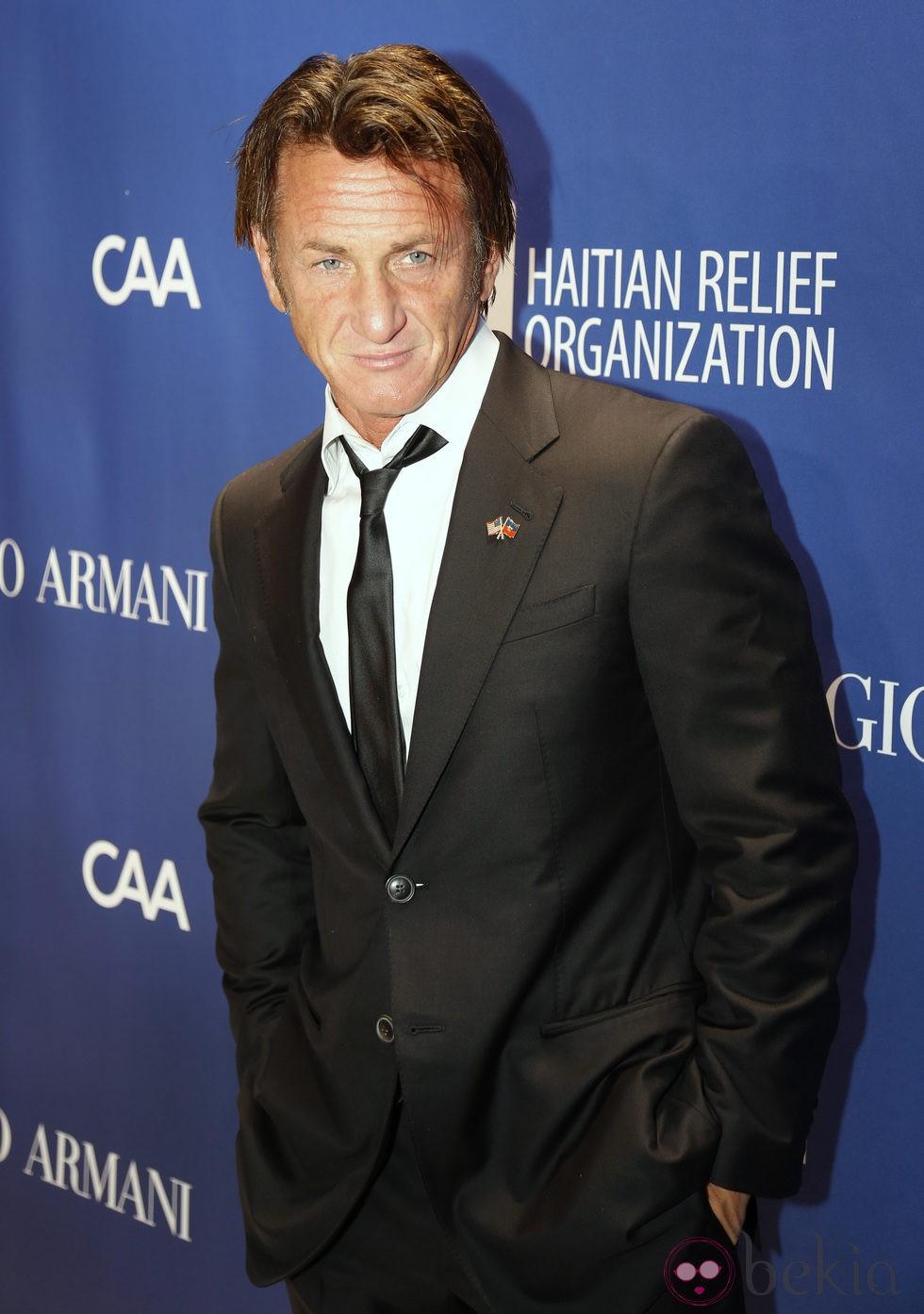 Sean Penn  en la tercera gala benéfica  'Sean Penn & Friends HELP HAITI HOME