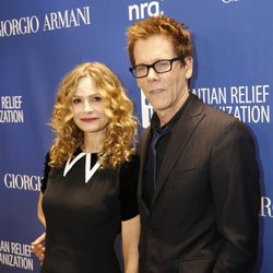 Kevin Bacon en la tercera gala benéfica  'Sean Penn & Friends HELP HAITI HOME