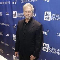 Michael Douglas  en la tercera gala benéfica  'Sean Penn & Friends HELP HAITI HOME