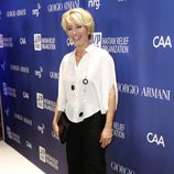 Emma Thompson  en la tercera gala benéfica  'Sean Penn & Friends HELP HAITI HOME