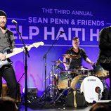 Una de las actuaciones  en la tercera gala benéfica  'Sean Penn & Friends HELP HAITI HOME