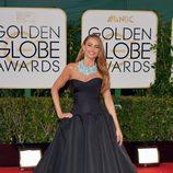 Sofia Vergara en la alfombra roja de los Globos de Oro 2014