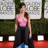 Sandra Bullock en la alfombra roja de los Globos de Oro 2014