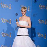 Jennifer Lawrence, mejor actriz de reparto en los Globos de Oro 2014