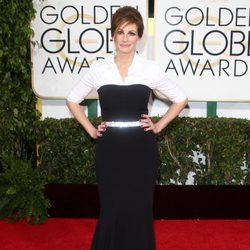 Julia Roberts en la alfombra roja de los Globos de Oro 2014