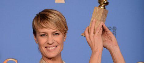 Robin Wright, Mejor actriz de drama de televisión en los Globos de Oro 2014