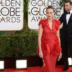 Berenice Bejo en la alfombra roja de los Globos de Oro 2014