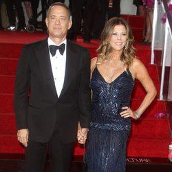 Tom Hanks en la alfombra roja de los Globos de Oro 2014
