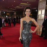 Kate Beckinsale en la alfombra roja de los Globos de Oro 2014