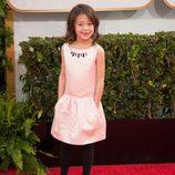 Aubrey Anderson-Emmons en la alfombra roja de los Globos de Oro 2014
