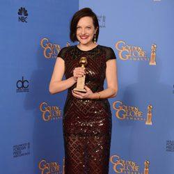 Elisabeth Moss, mejor actriz de una miniserie en los Globos de Oro 2014