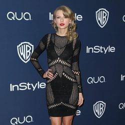 Taylor Swift en la fiesta Warner Bros. tras los Globos de Oro 2014