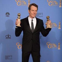 Bryan Cranston, mejor actor de drama en los Globos de Oro 2014