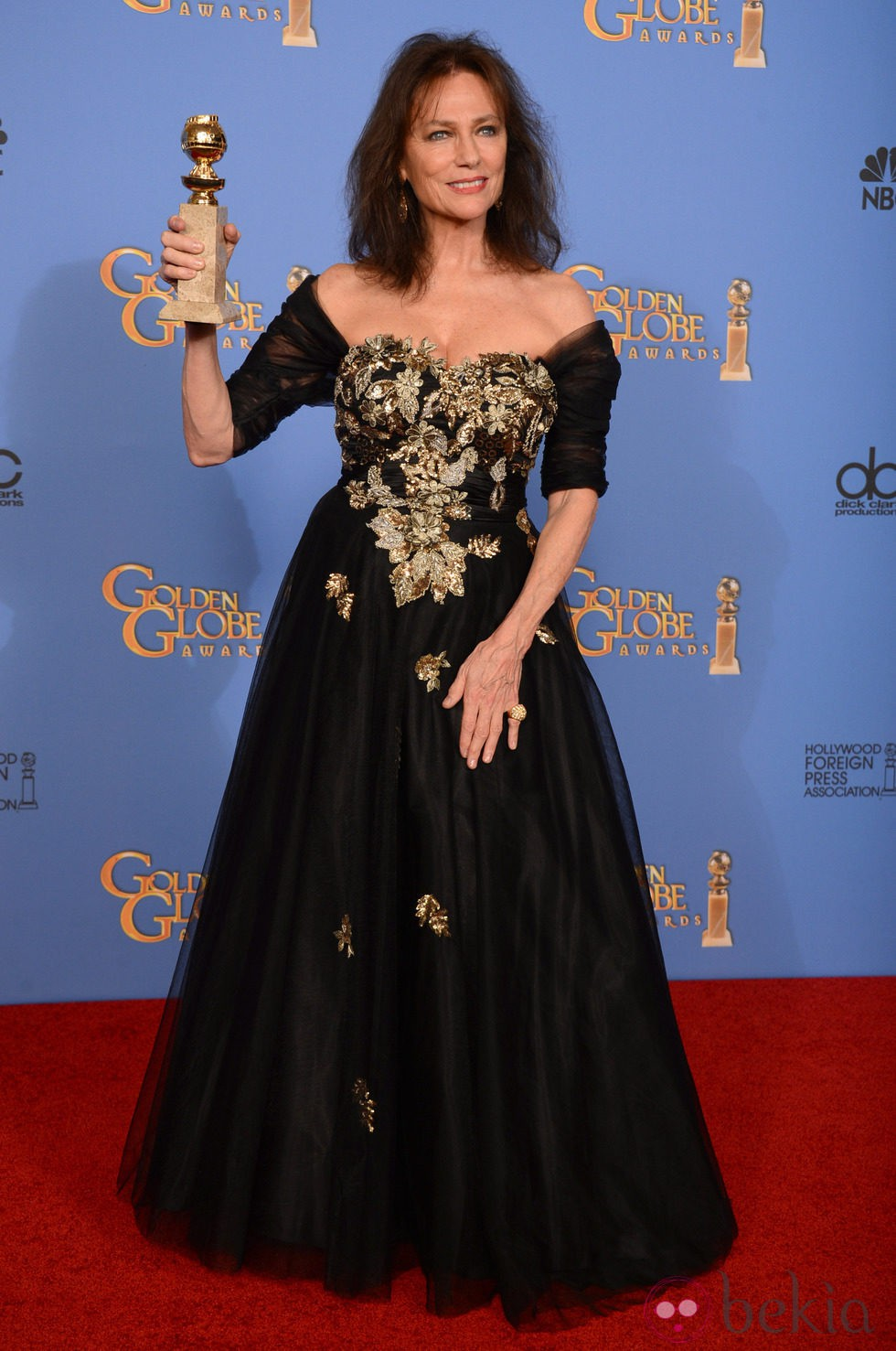 Jacqueline Bisset, mejor actriz de reparto en los Globos de Oro 2014