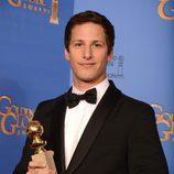 Andy Samberg, mejor actor de comedia en los Globos de Oro 2014