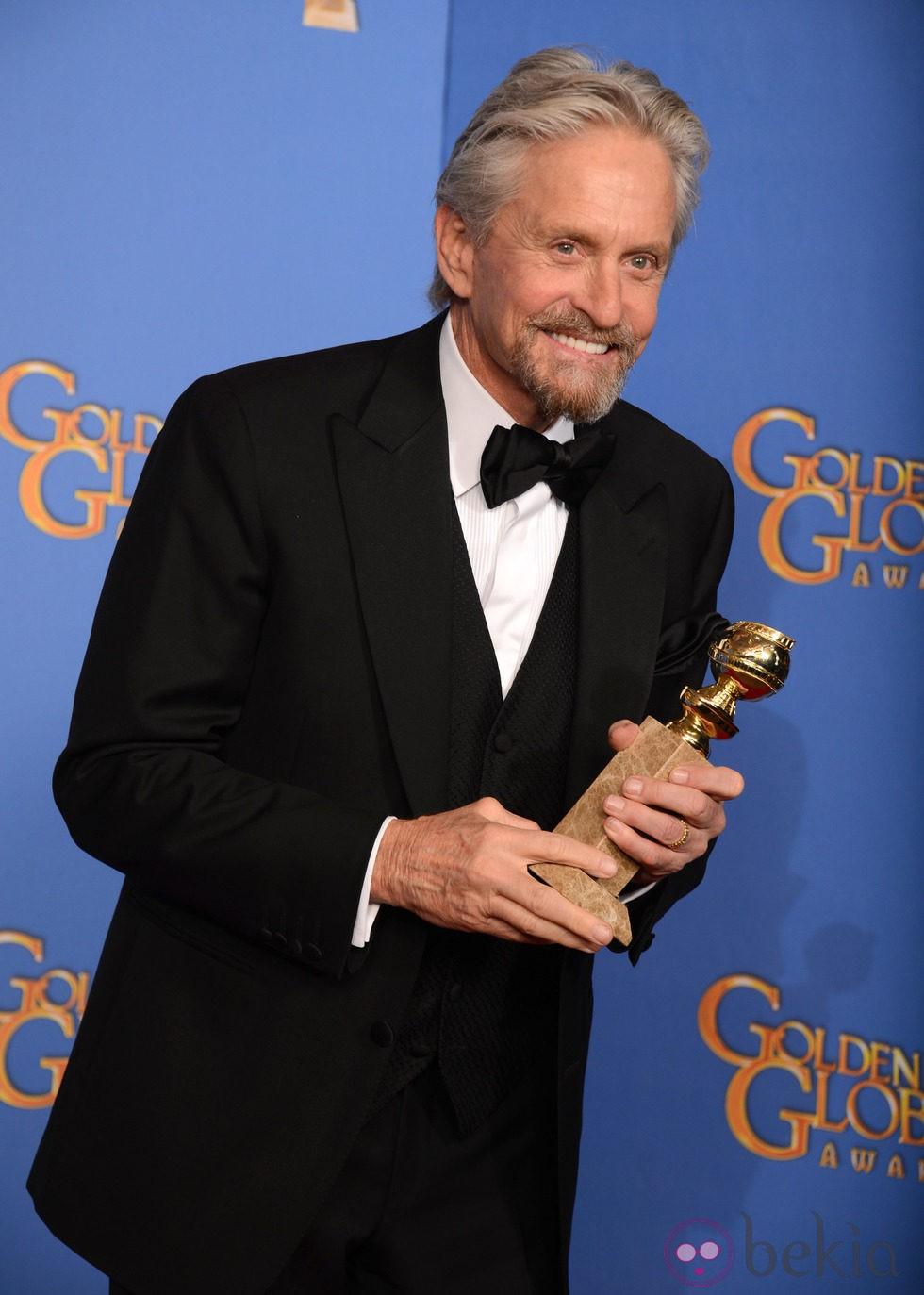 Michael Douglas, mejor actor de una miniserie en los Globos de Oro 2014