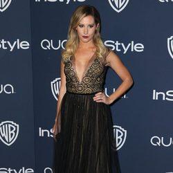 Ashley Tisdale en la fiesta Warner Bros. tras la entrega de los Globos de Oro 2014