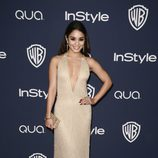 Vanessa Hudgens en la fiesta Warner Bros. tras los Globos de Oro 2014
