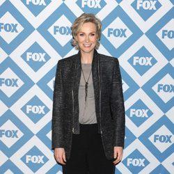 Jane Lynch en la presentación de la temporada 2014 de Fox
