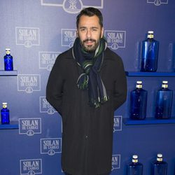Juanjo Oliva en un acto celebrado por la marca de bebidas Solán de Cabras