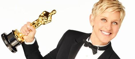Ellen DeGeneres posa para los Oscar 2014