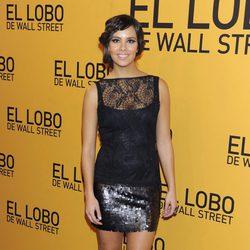 Cristina Pedroche en el estreno de 'El lobo de Wall Street' en Madrid