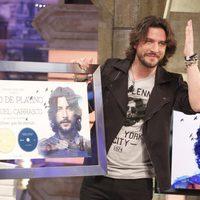 Manuel Carrasco recibe el Disco de Platino en 'El hormiguero'