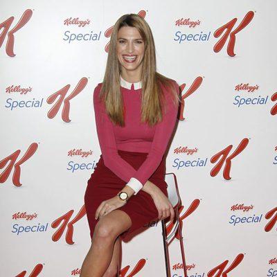 Laura Sánchez en un acto publicitario de Special K