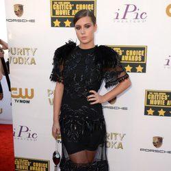 Adèle Exarchopoulos en la alfombra roja de los Critics' Choice Movie Awards 2014