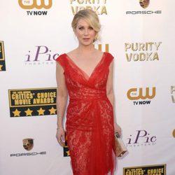 Christina Applegate en la alfombra roja de los Critics' Choice Movie Awards 2014