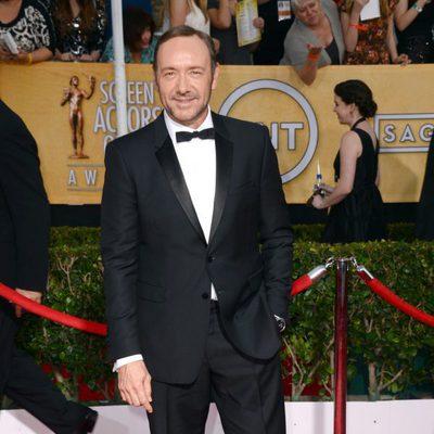 Kevin Spacey en los Premios del Sindicato de Actores 2014