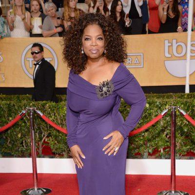 Oprah Winfrey en los Premios del Sindicato de Actores 2014