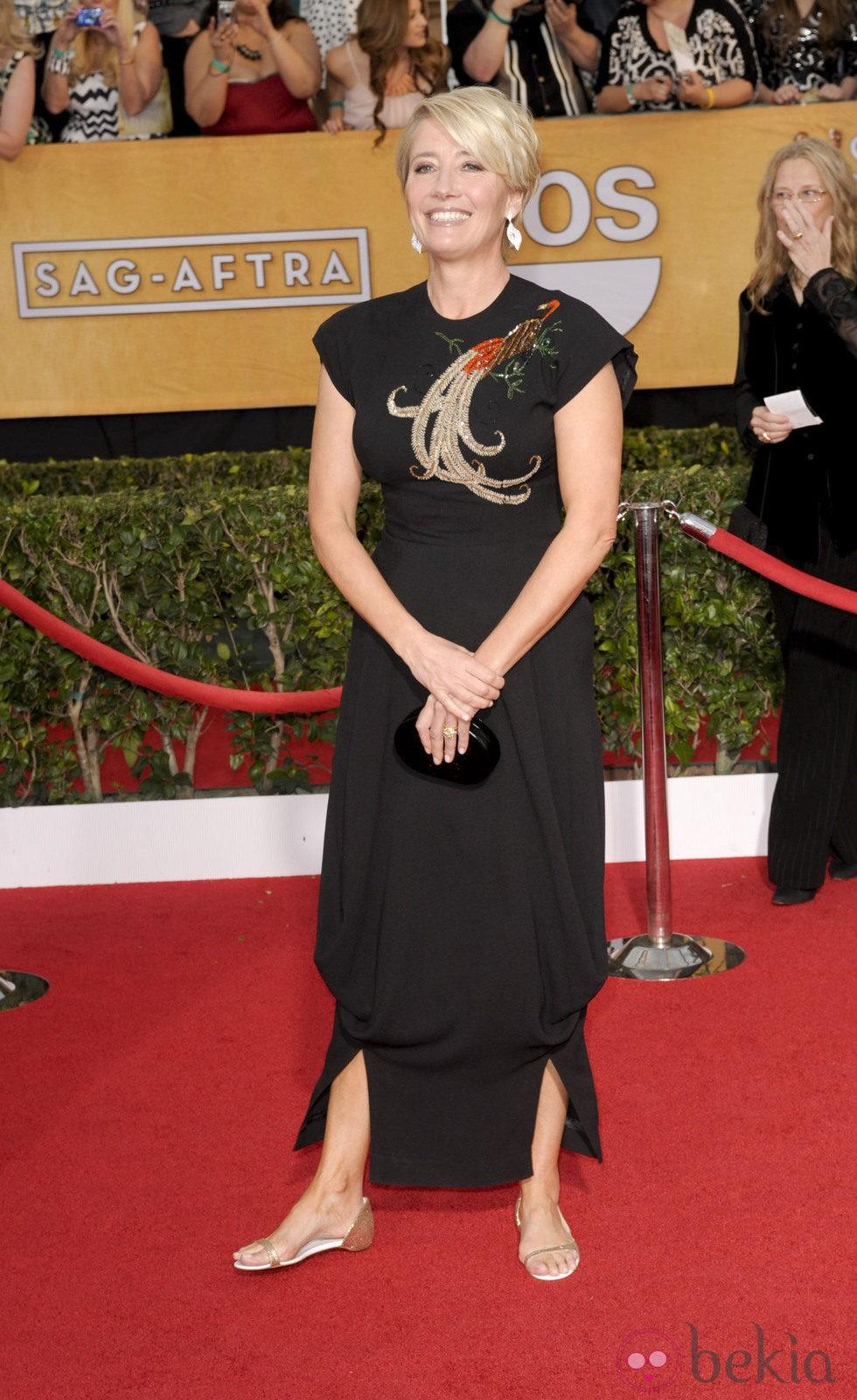 Emma Thompson en los Premios del Sindicato de Actores 2014
