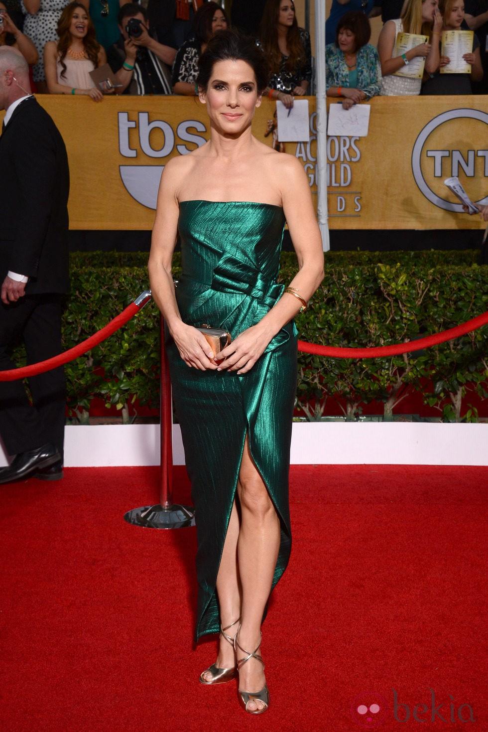 Sandra Bullock en los Premios del Sindicato de Actores 2014