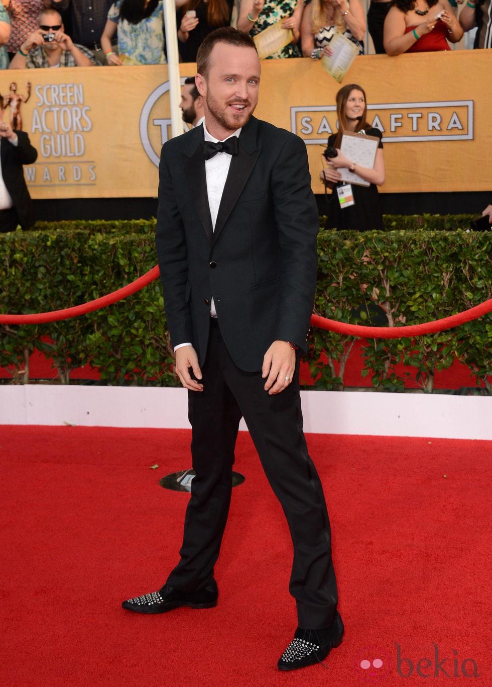 Aaron Paul en los Premios del Sindicato de Actores 2014
