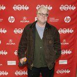 Philip Seymour Hoffman a su llegada al festival de cine 'Sundance' 2014