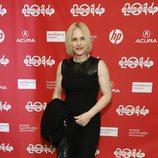 Patricia Arquette a su llegada al festival de cine 'Sundance' 2014