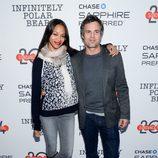 Zoe Saldaña y Mark Ruffalo en el estreno de 'Infinitely Polar Bear' en el festival de cine 'Sundance' 2014