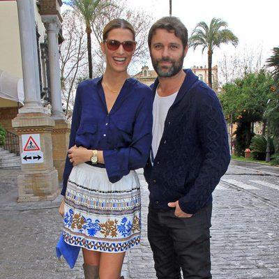 Laura Sánchez y David Ascanio en la segunda edición de la pasarela We love flamenco
