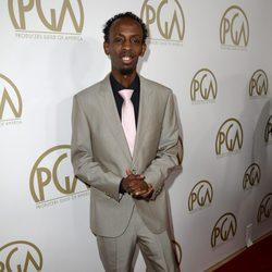 Barkhad Abdi en la gala de entrega de los Producers Guild Awards 2014