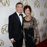 Steve Coogan y Philomena Lee en la gala de entrega de los Producers Guild Awards 2014